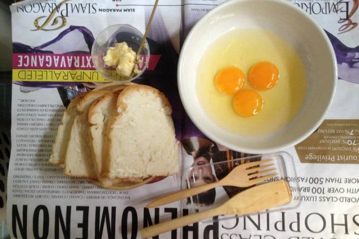 มื้อเช้ากับโทสต์ง่ายๆ