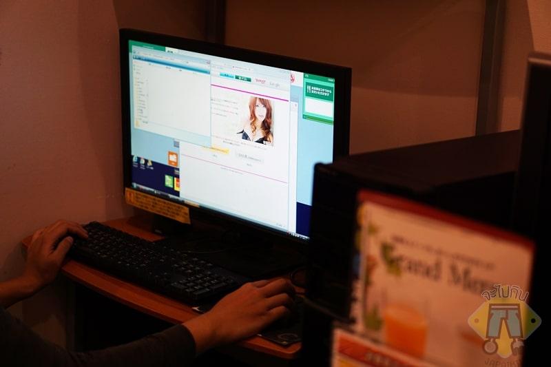 Internet cafe in japan-16