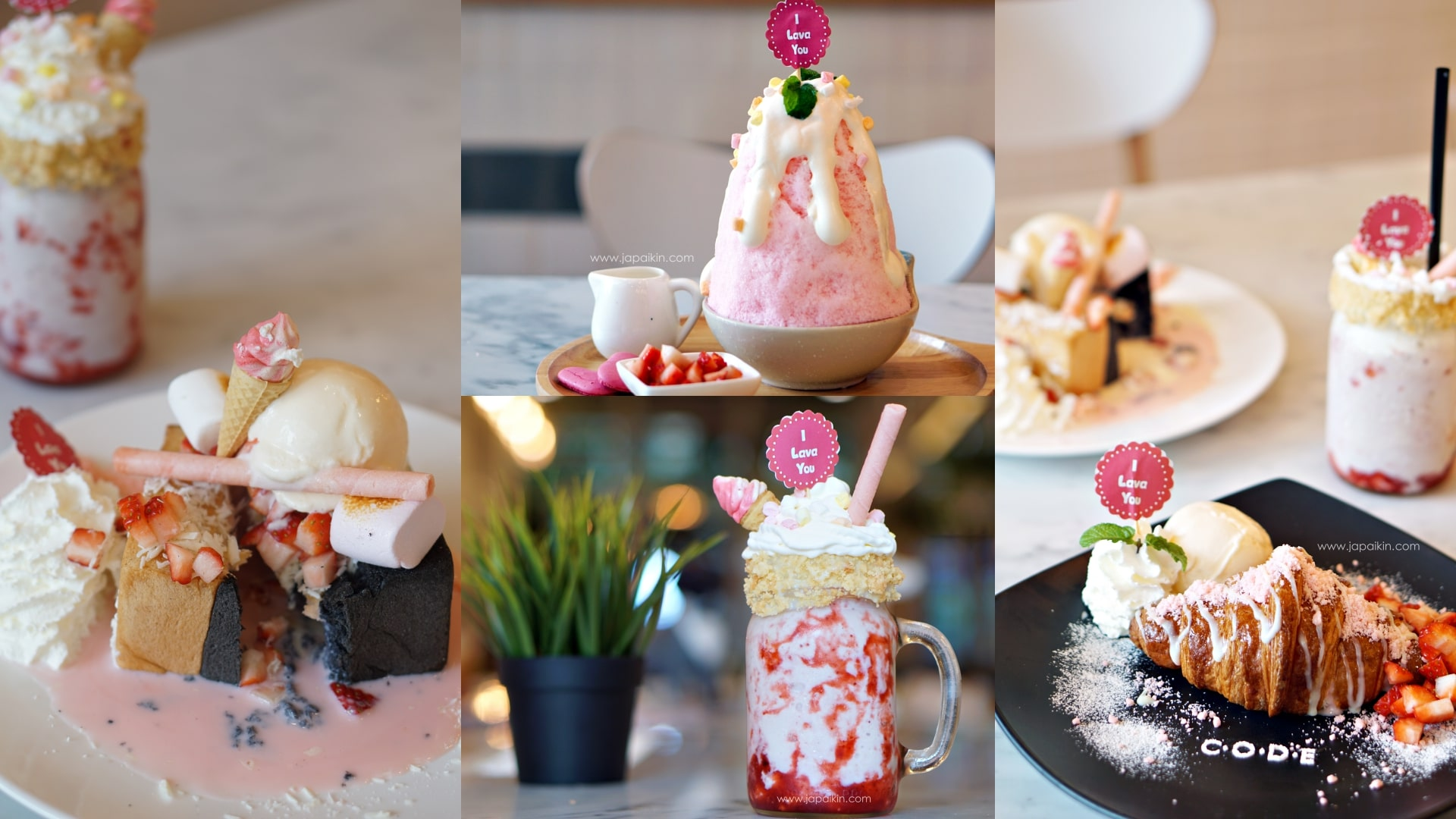 CODE Cafe เปิดตัว 4 เมนูใหม่ ธีมสีชมพูสดใสเพื่อต้อบรับวาเลนไทน์ 1 ก.พ. - 31 มี.ค. 2560 เท่านั้น