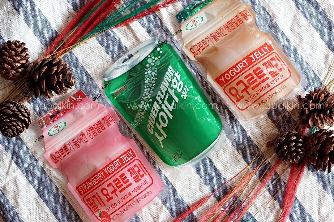 เยลลี่ยาคูลท์เกาหลี 3 รสชาติ