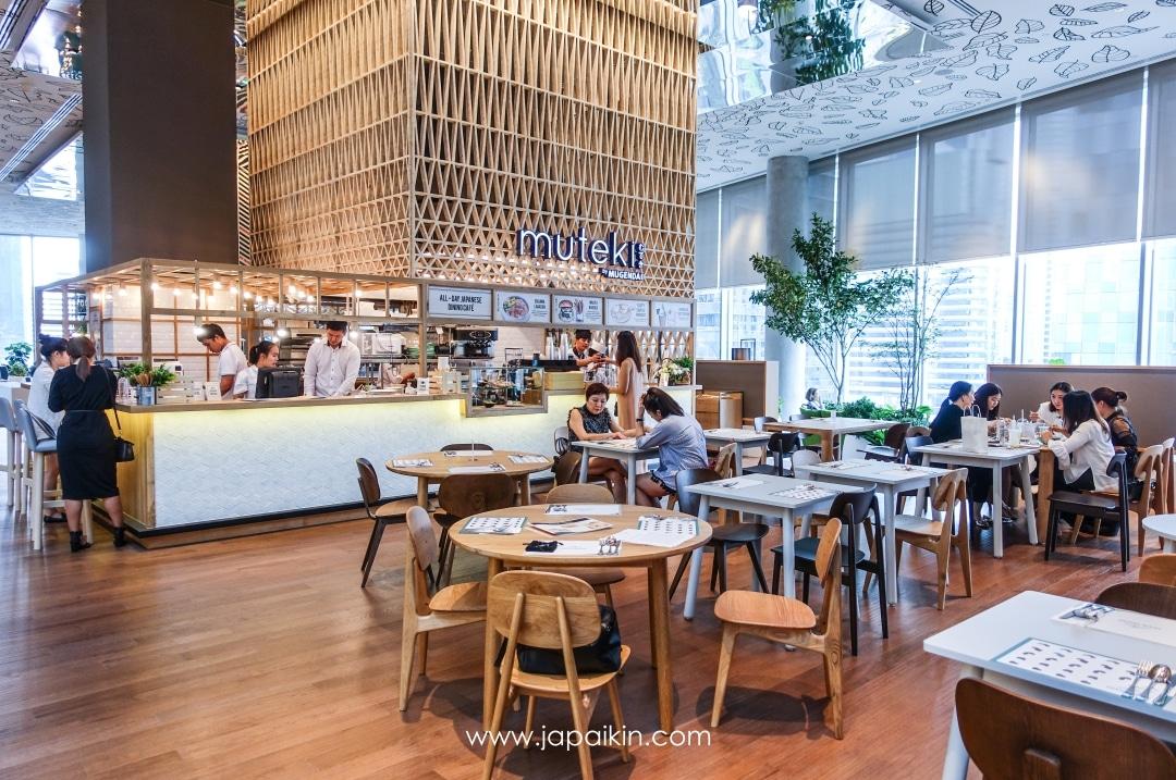 muteki by Mugendai ร้านอาหารญี่ปุ่นแนวใหม่ โดดเด่นด้วยวัตถุดิบพรีเมี่ยม
