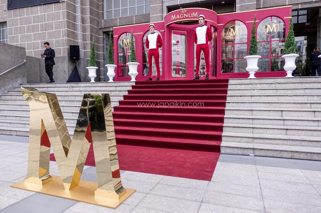 งานเปิดตัว Magnum Red Velvet