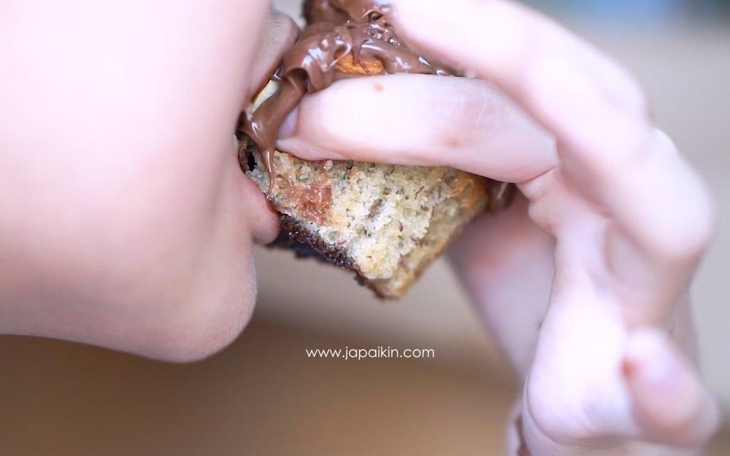 คัพเค้ก โคตรช็อคโกแลต นูเทลล่า-10