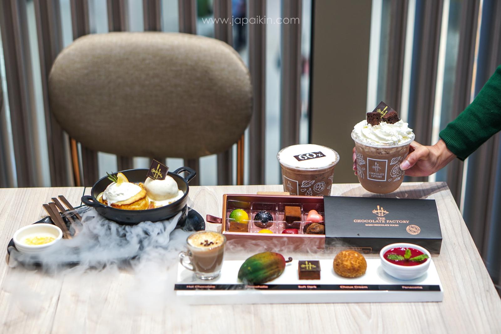 เมนูร้าน The Chocolate Factory สาขาแรกในกรุงเทพ